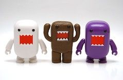 DOMO'S rule ! (kingkong21) Tags: domo qee darkhorse toy2r