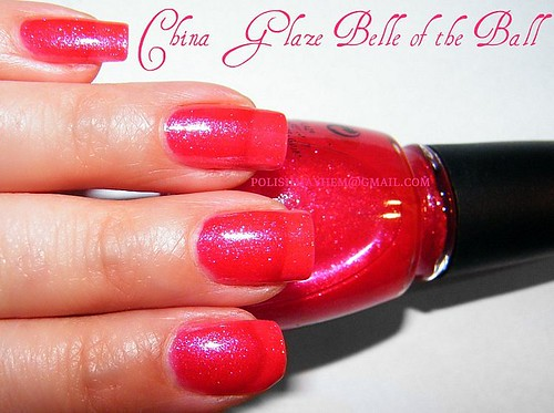 China Glaze Belle of the Ball