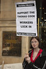 Support The Thomas Cook Workers Lock In