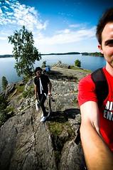 Landscape (Jay & Rob) Tags: summer lake rock suomi finland kallio icecream tampere pyynikki kes jrvi jtel pyhjrvi pyynikinranta jayrob jayandrob