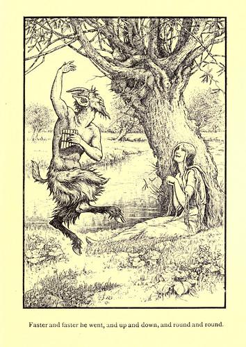 029-Eros y Psique-Los niños del Alba 1908- Frank Pape Cheyne