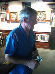 Jimmy Nolan waiting to throw
