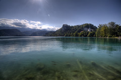 Looking at the fish (Bas Lammers) Tags: lake fish water canon slovenia bled soe hdr photomatix 50d flickrdiamond mygearandmepremium mygearandmebronze mygearandmesilver mygearandmegold mygearandmeplatinum