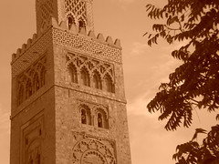 alminar (Joan Pau Inarejos) Tags: detalle marrakech mezquita marruecos koutoubia