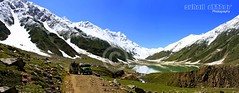 Lake Saiful Malook (Suh@il) Tags: travel panorama mountain lake snow canon kit kaghan naran suhail jeepsafari northernarea 40d lakesaifulmalook suhailakhtar canon40d northernareaofpakistan