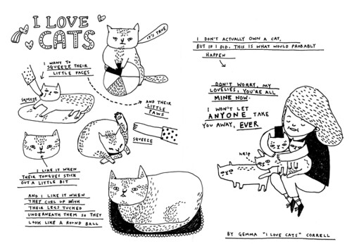 Obsession zine : Cats
