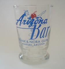 ARIZONA BAR ASHFORK ARIZONA (ussiwojima) Tags: arizona glass bar cocktail girlie highball ashfork arizonabar advertisingglass