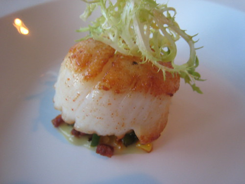 Sea Scallop, Corn Jalapeno