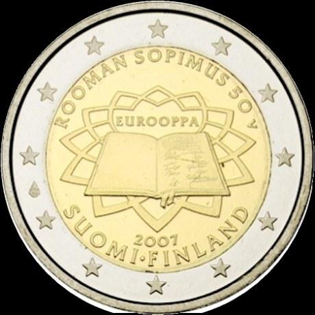 2 euro Fínsko 2007, Rímska zmluva