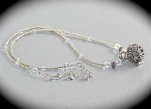 Prayer Box Pendant Necklace