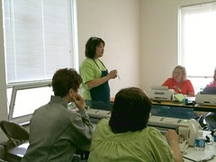Me teaching in Washington, PA