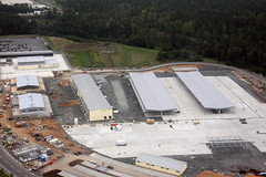 Construction nears completion for Efficient Basing Grafenwoehr (USACE Europe District) Tags: construction aerial ebg usarmycorpsofengineers grafenwoehr militaryconstruction milcon europedistrict efficientbasinggrafenwoehr