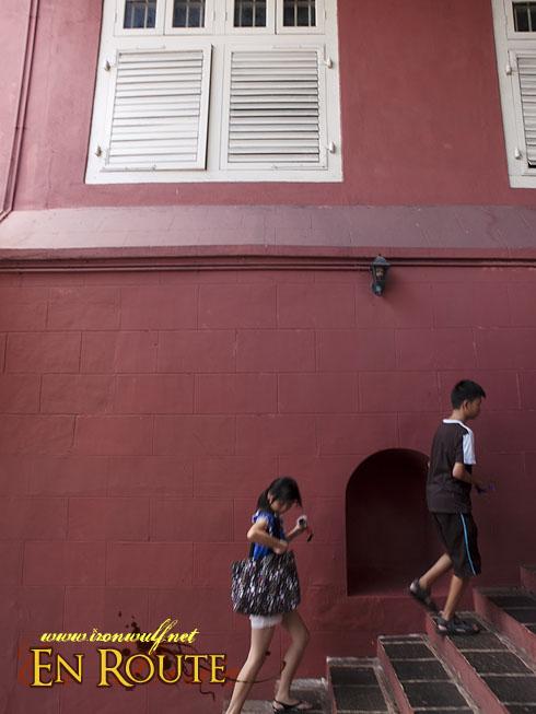 Malacca Studthuys Stairs