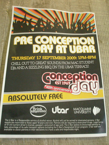 Conception Day Poster