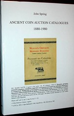 Spring Ancient Coin Auction Catalogs 1880-1980