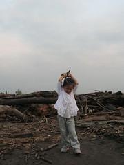20090829-zozo還戴布手套 (2)