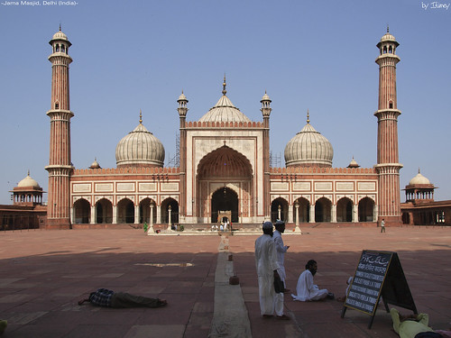 Jama Masjid II por itimey.
