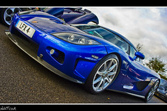 Peter Saywell Blue Koenigsegg CCX Angled Low Shot (NWVT.co.uk) Tags: charity wood blue money detail wet race one is high track all photographer shot very cloudy good low dry sunny automotive awsome kind professional peter event around carbon rare goodwood damp angled exotica koenigsegg freelance outstanding fibre happyness raising ccx a saywell of nwvtcouk nwvt