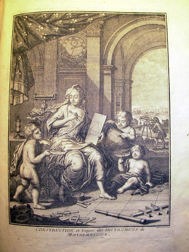 Nicolas Bion (1652-1733), Traite de la construction et des principaux usages des instrumens de mathematique, 3rd edition, Paris, 1725.