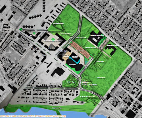 General Master Plan of Dartmouth Common