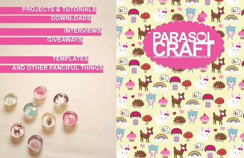 Pinks & Needles in the Press ~ Parasol Craft Magazine Issue 2