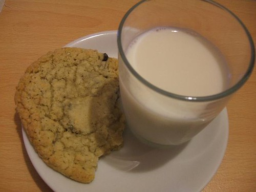 Milk and cookie