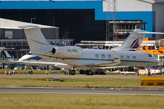 EI-GDL - 5068 - Westair Aviation - Gulfstream G550 - Luton - 091104 - Steven Gray - IMG_3427