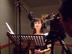 本田美奈子「時」レコーディング