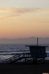 42ndStreetElPorto (mcshots) Tags: usa california socal losangeles coast sunset beach lifeguardtower sands sky clouds ocean sea water spring nature stock mcshots