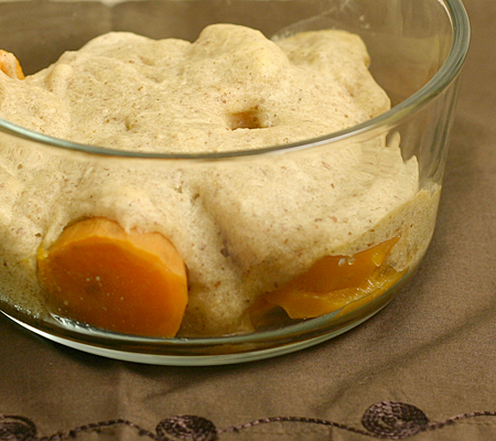 Gluten-free sweet potato cobbler