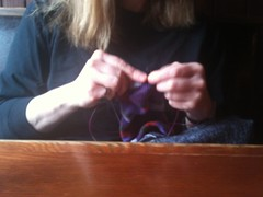 Mystery knitter