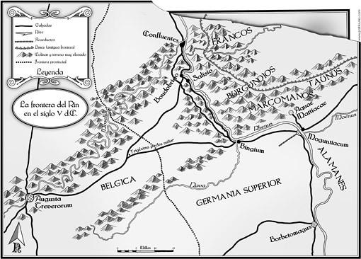 Mapa - El Aguila en la Nieve (Ed. Alamut) pablouria.com