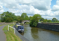 Leeds and Liverpool Canal at Greenberfield Locks by Tim Green aka atoach