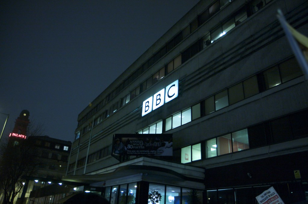Our Manchester home, BBC Oxford Road - from Coffee Lover on Flickr