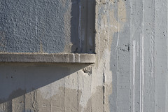 Walled (David Gallagher) Tags: sanfrancisco concrete foundinsf