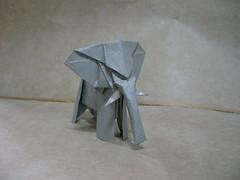 elephant. (Slave of Sleep) Tags: elephant origami paperfolding
