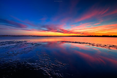 Matanzas Inlet January Sunset (JamesWatkins) Tags: ocean sunset seascape art evening nikon poetry surf sundown florida piers digitalart wideangle atlantic writers beaches wa poems atlanticocean soe hdr beautifulclouds tides poets nightfall matanzas surfside d300 matanzasinlet beachscape sigma1020mm creativewriting floridabeaches inlandwaterway oceanscape staugustinefl the4elements poetryandphotos jameswatkins photosandpoems theunforgettablepictures hdrpictures colourartaward fbdg goldstaraward