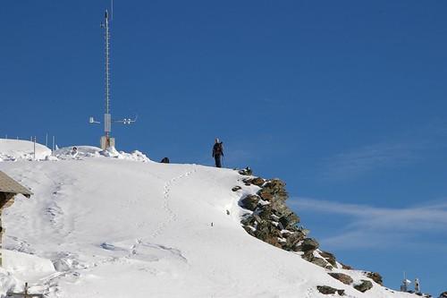 有攝影愛好者專門來拍馬特洪峰