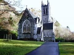 Kylemore Church (exterior) (L. M. Bernhardt) Tags: ireland connemara kylemore
