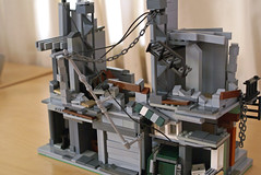 Post-Apocalypse (at94) Tags: buildings lego awesome postapocalypse