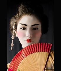 The Show (Heilah Alnasser) Tags: portrait studio nikon geisha nikkor softbox cultural heilah heilahn