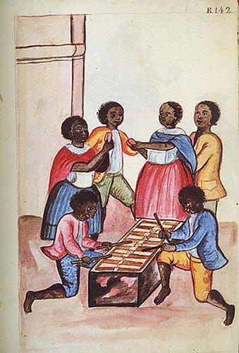004---Códice Trujillo-Negros tocando marimba y bailando-T2-E142