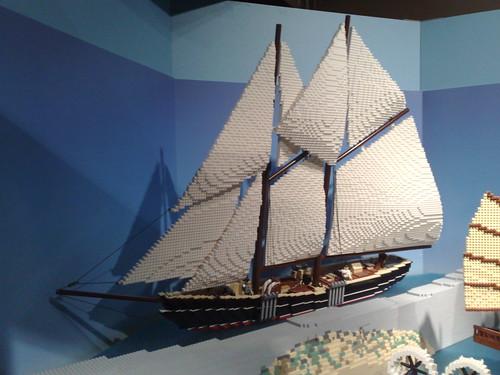 cameraphone shozu vancouver sailboat ship lego rolandtanglaophoto scienceworld telusworldofscience n82photo wheelswingsandwaves