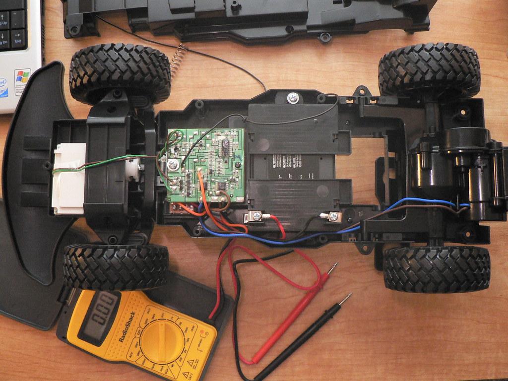 RC Car Circuit Exposed
