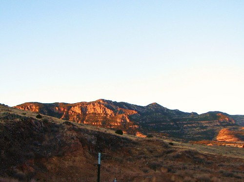 Deer Creek mine at sunrise