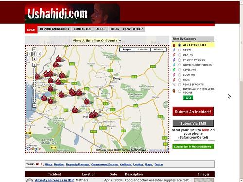 ushahidi en kenya