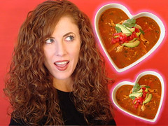 Average Betty <3 Tortilla Soup (averagebetty) Tags: california girls food chicken cooking recipe soup funny comedy sara day betty valentines recipes tortilla average odonnell averagebetty saraodonnell