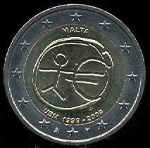 2 Euro Malta 2009, HMÚ