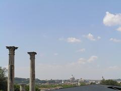 View of Rome (jerome86) Tags: italy rome roma italia columns synagogue palace dome column flavia domus stpeter palatinehill domusflavia flavianpalace sancarloaicatinari synagogueofrome