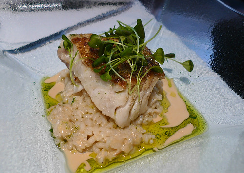 cabillaud and risotto